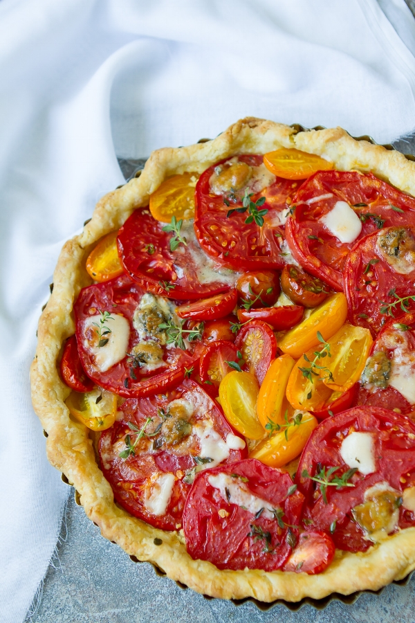 French Tomato Tart — playin with my food
