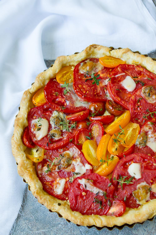 French Tomato Tart