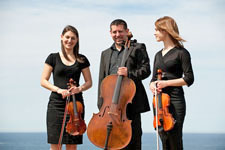 String Trio  $480 for the first hour, $210 for each subsequent hour.