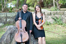 String Duo $340 for the first hour, $160 for each subsequent hour.