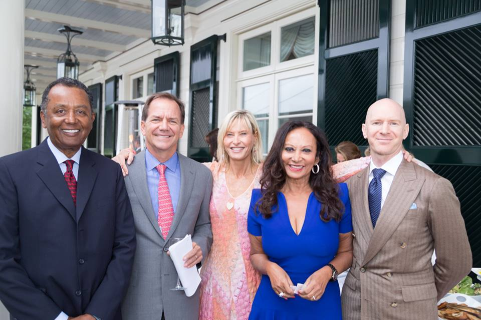 From Left: Eugene Ruffin, Paul Tudor Jones, Sonia Jones, Solima Ruffin, Eddie Stern