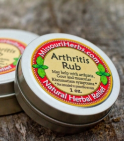 Arthritis Rub (Comfrey Salve) - Historical uses: Arthritis, gout, and muscular rheumatism symptoms.* *Not intended to prescribe or cure. 1 oz. - $7 2 oz. - $12