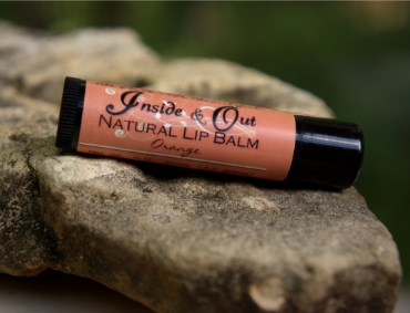 Lip Balm, orange flavor - all natural.  Tastes like a creamcicle.  $4 .