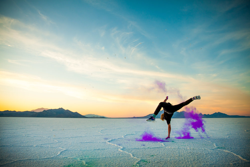 Dancing on The Salt Flats   08 . 27 . 16