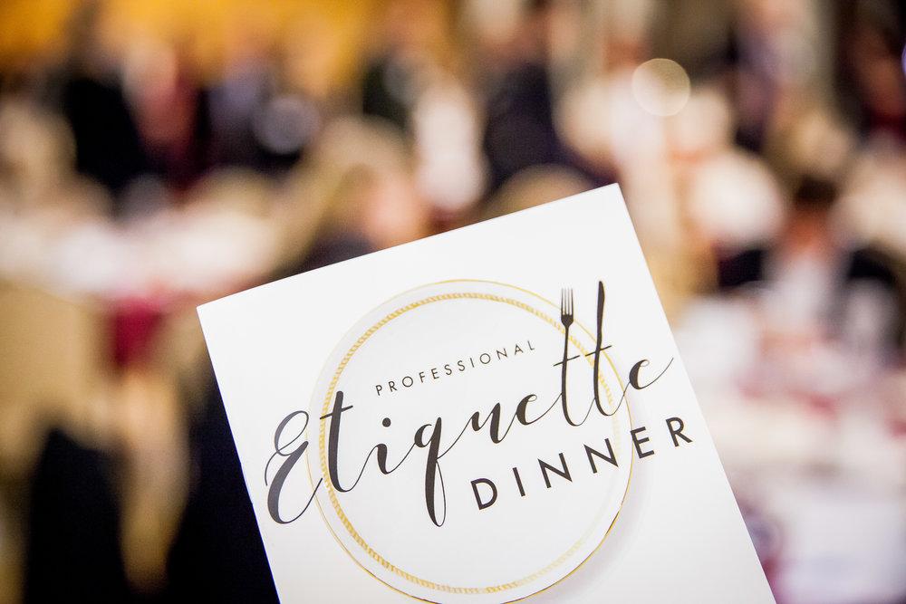 BYU Student Alumni Etiquette Dinner 11 . 03 . 16