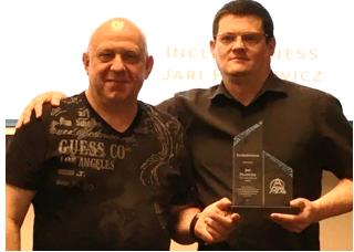 Jari Plesowicz - APM CanadaInclusivenessJari (left) pictured with Ben Jonas, APM Canada Director