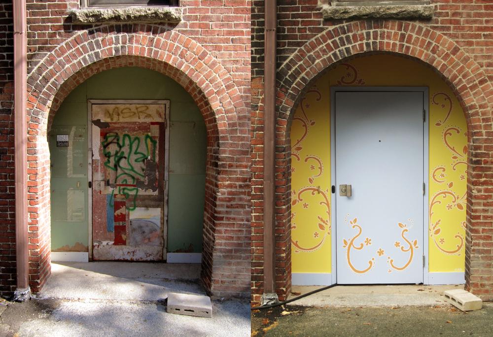 Porter Mill Doorway