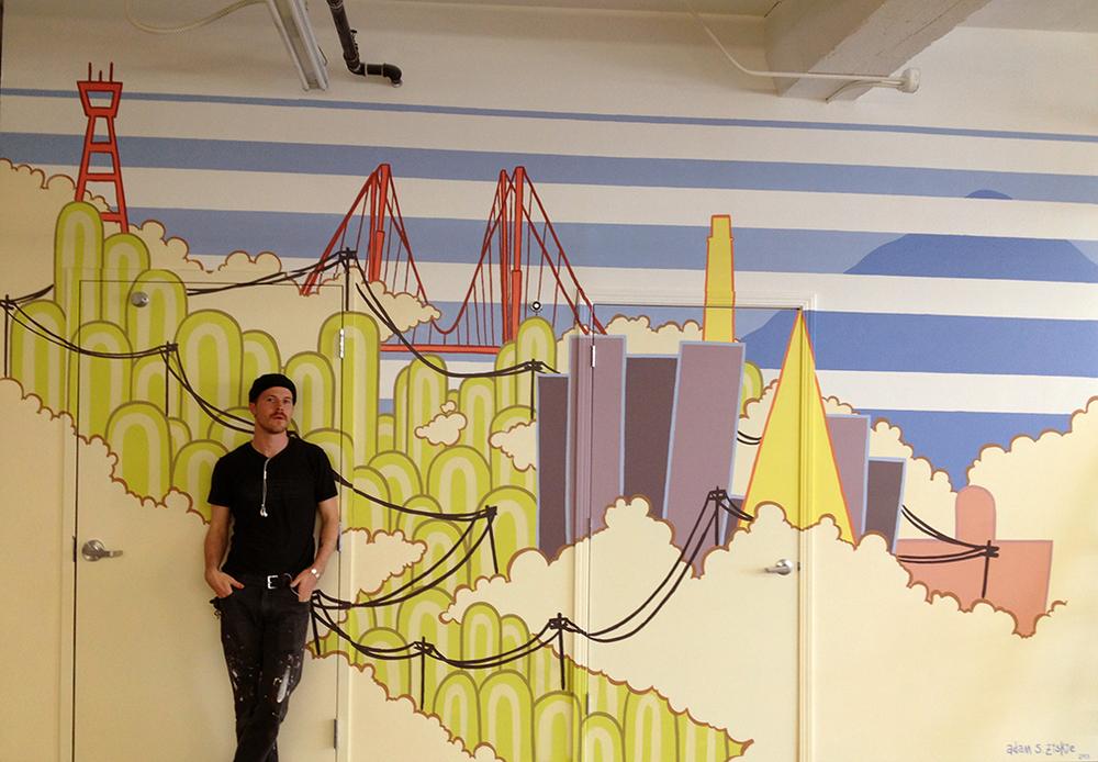 934 Howard Mural