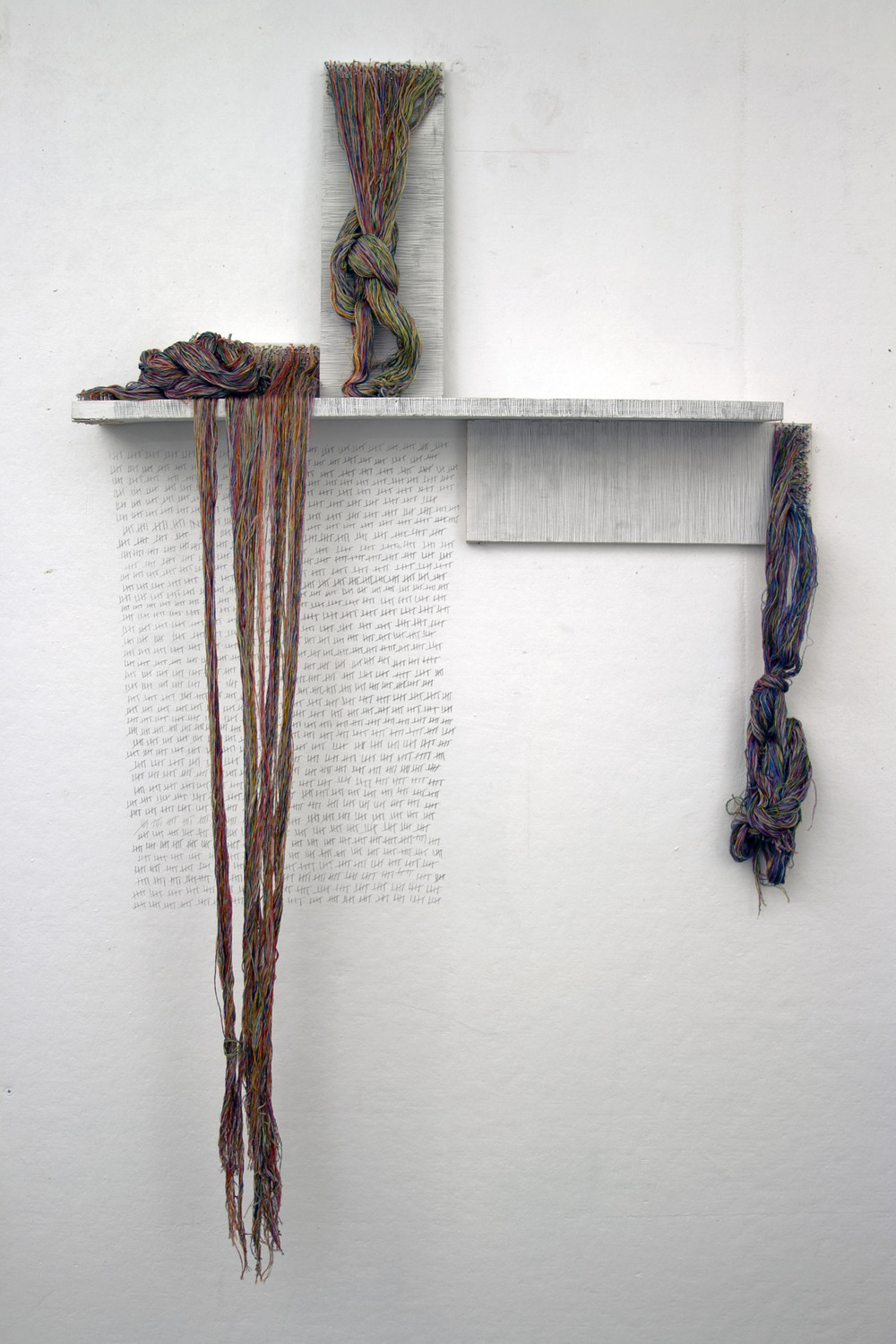 Matters , 2013. wood, fiber. variable dimensions.