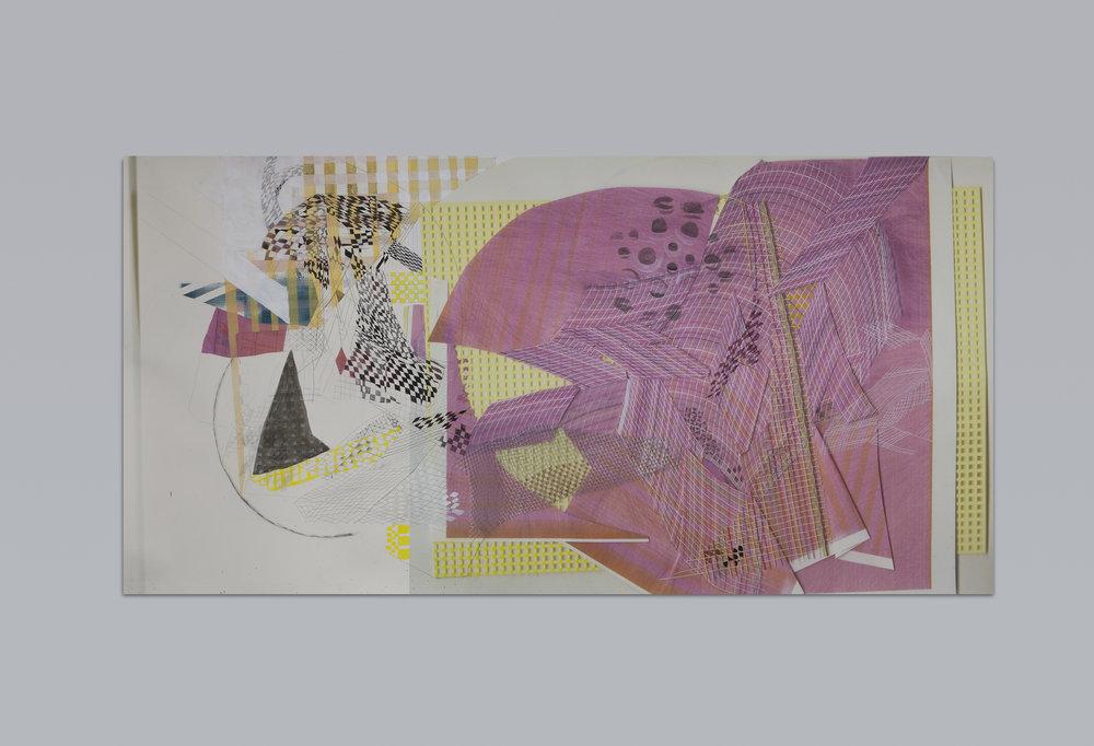 PARADOX OF CHOICE , 2015  mixed media on digital print