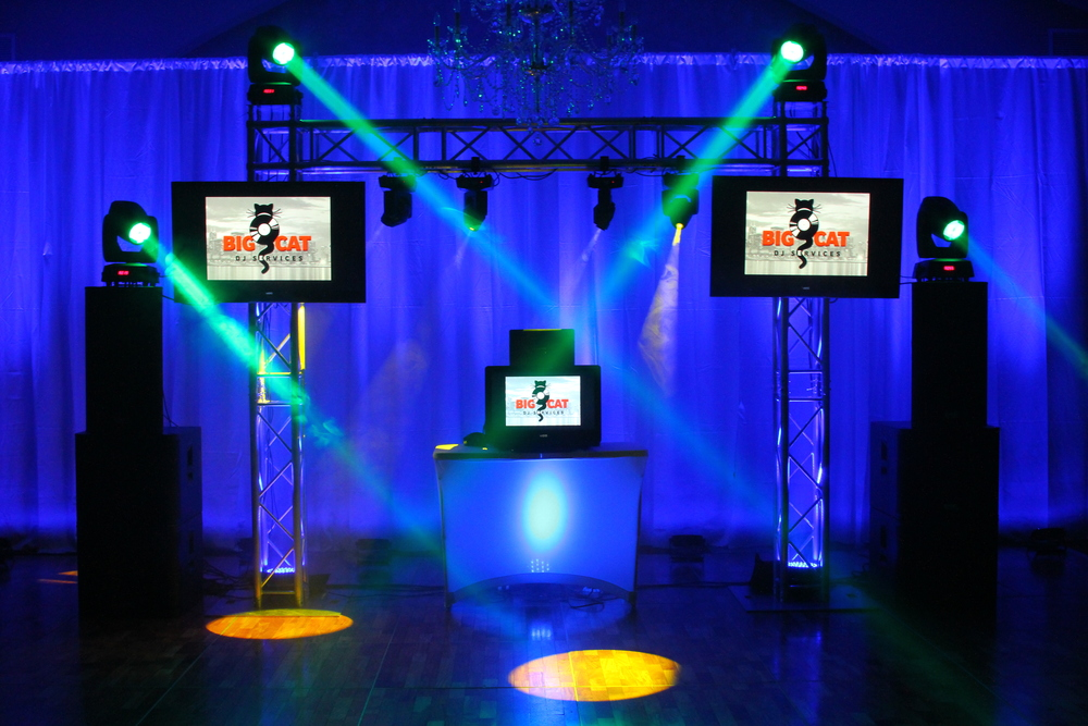 TIGER VJ PACKAGE Brand your event by featuring your own logo.