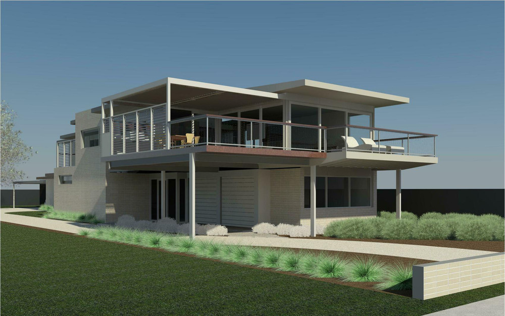 Beachfront house plans australia for Australian beach house designs