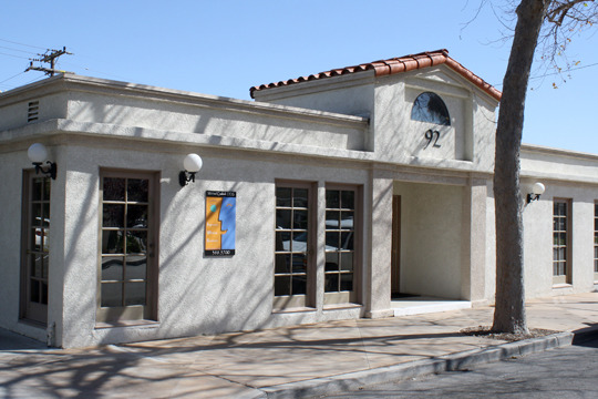 The Camarillo Smiles building at Palm and Chapel