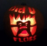 Dr. Pez's Did U Floss Pumpkin