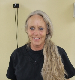 Teri, warm and caring dental assistant