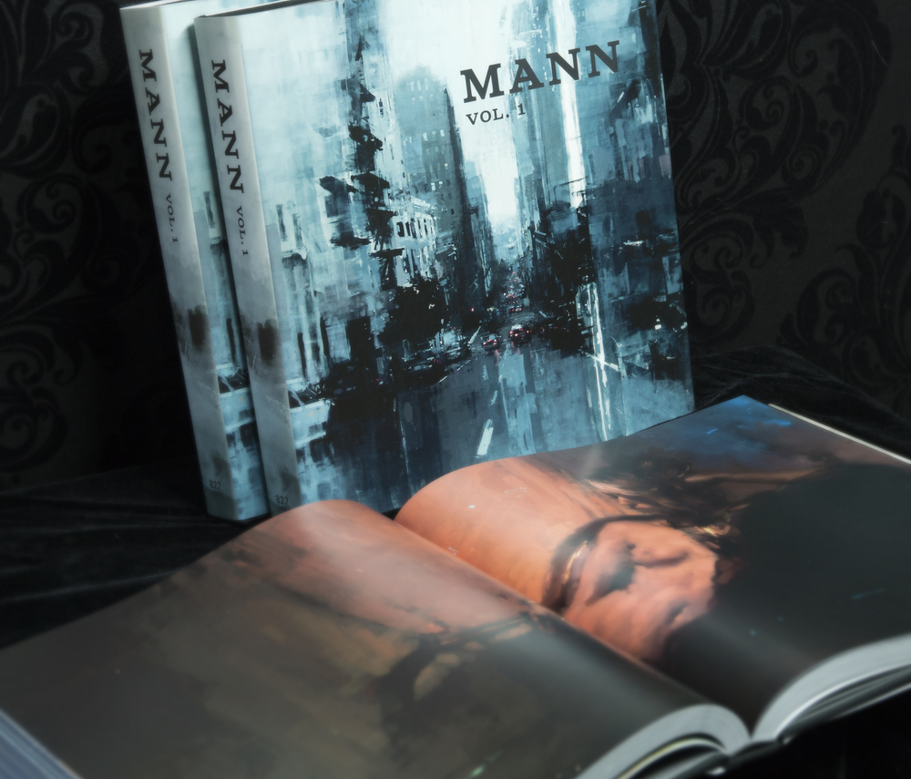 - Available now - Visit www.827ink.com/mann-volume-1/ Worldwide shipping 384 full color pages 12 x 12 inches, Case bound Cloth Cover and Dust Jacket over 25 paintings reproduced at actual size 10 pages of text