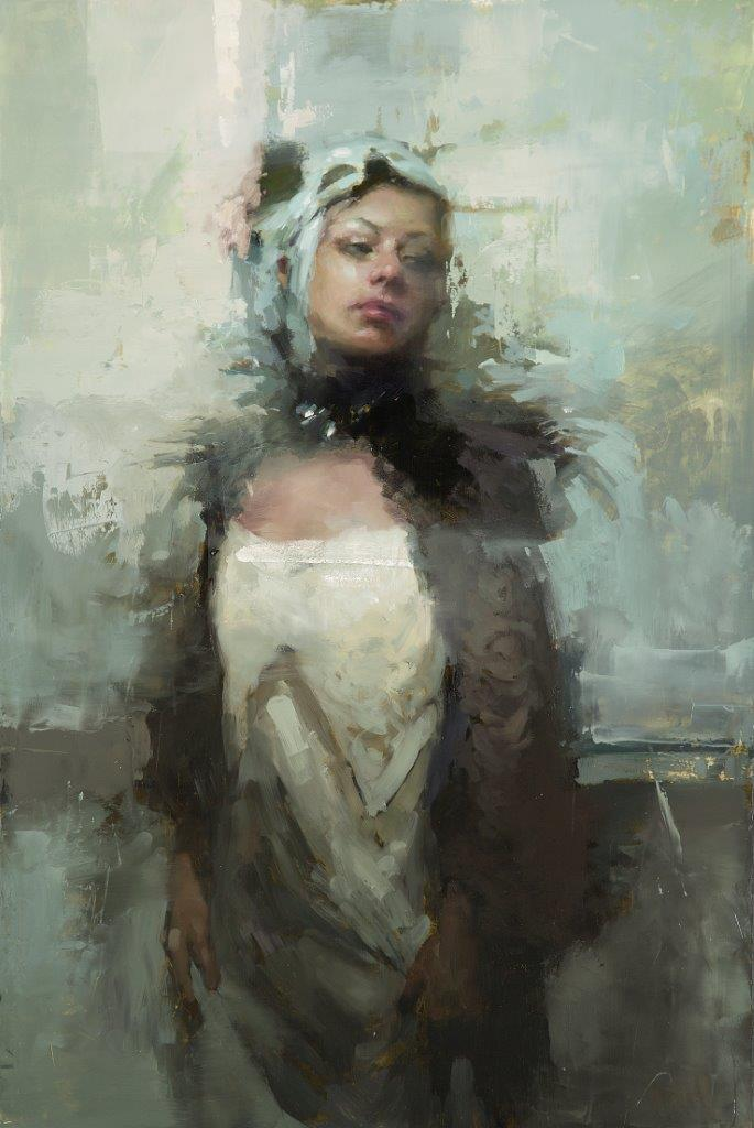 After the Masquerade - 24 x 16 inches - Oil on panel - 12/2013