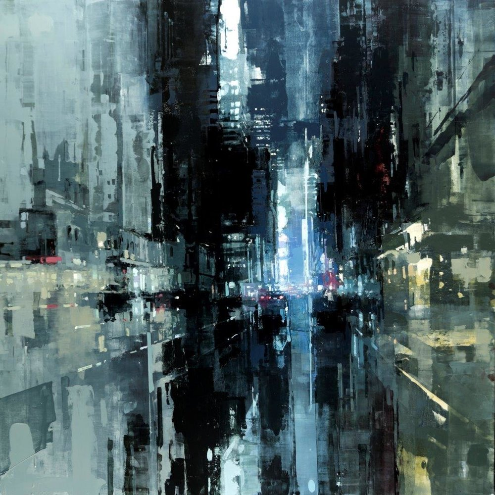 NYC20 - 48 x 48 inches - Oil on Panel - Jan-16