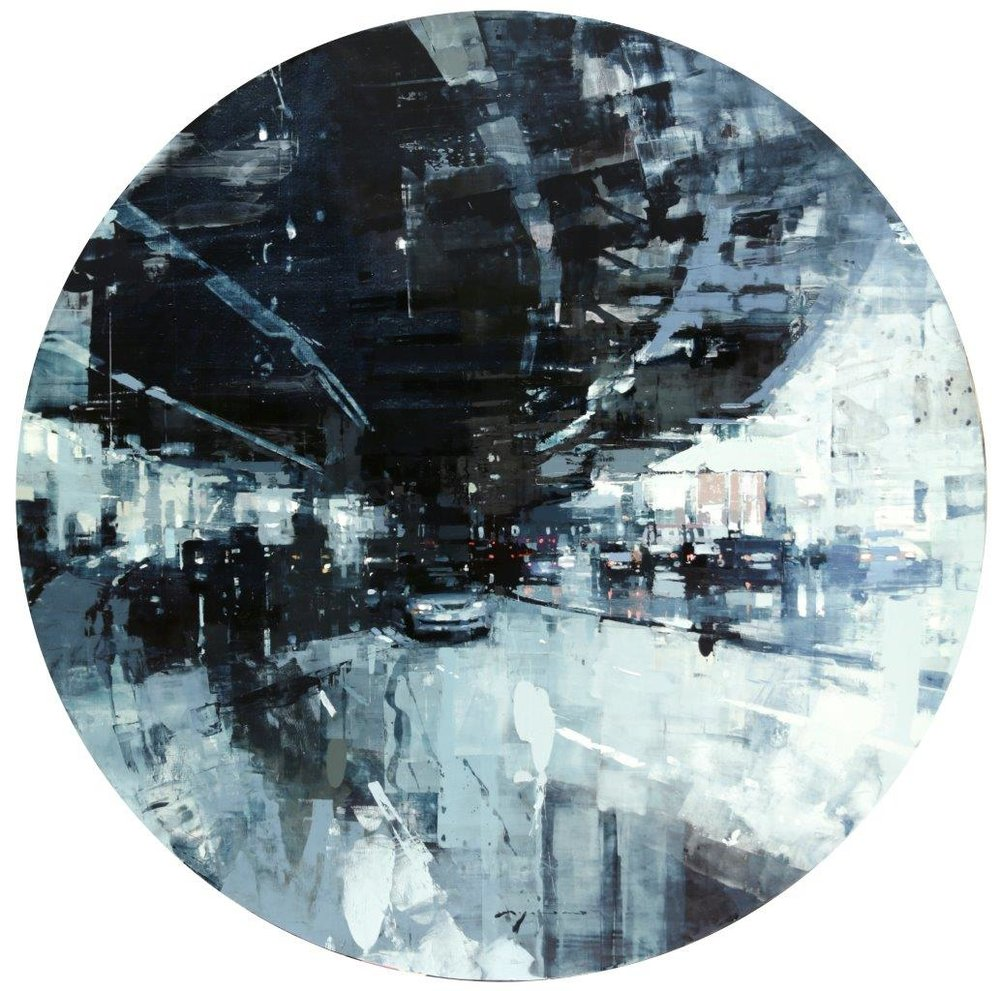 SF12 - 48 in. Diameter - Oil on Panel - Apr-17