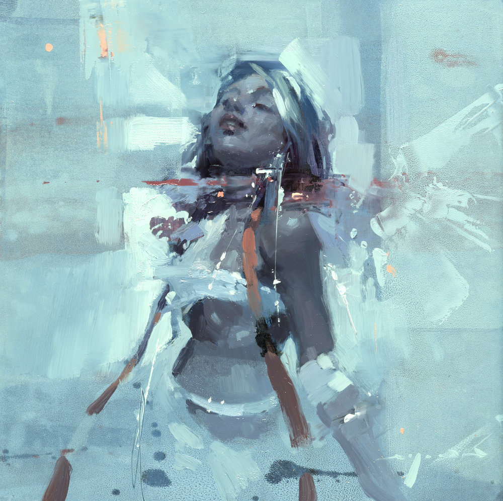 Figure - Composed Form Study 4 - 6 x 6 inches - Oil on Panel - Oct-16