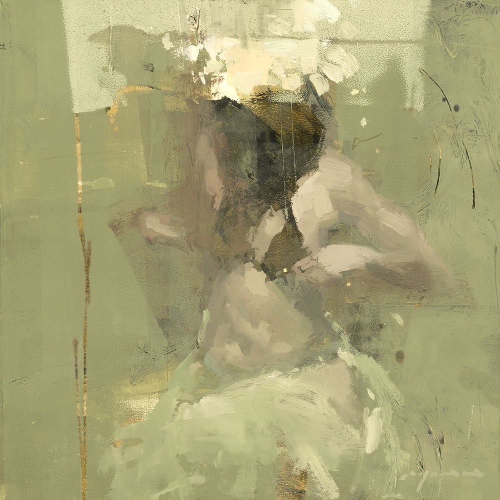 Figure - Composed Form Study 22 - 6 x 6 inches - Oil on Panel - Jun-17