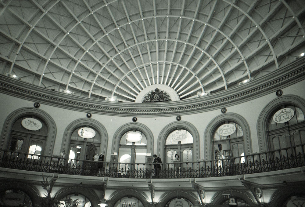 27/366 - I have so many photos of the Corn Exchange in Leeds but the lone man on the balcony seemed too perfect to not capture.
