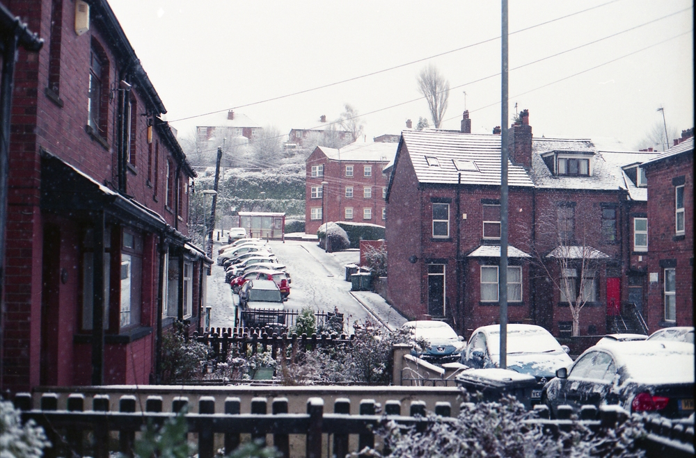 64/366 - Snooowwww! And my photo of the day taken before 7.30am ha.