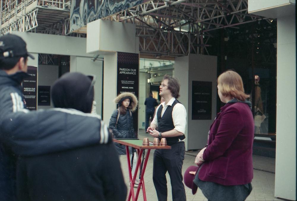 85/366 - A street magician in Leeds