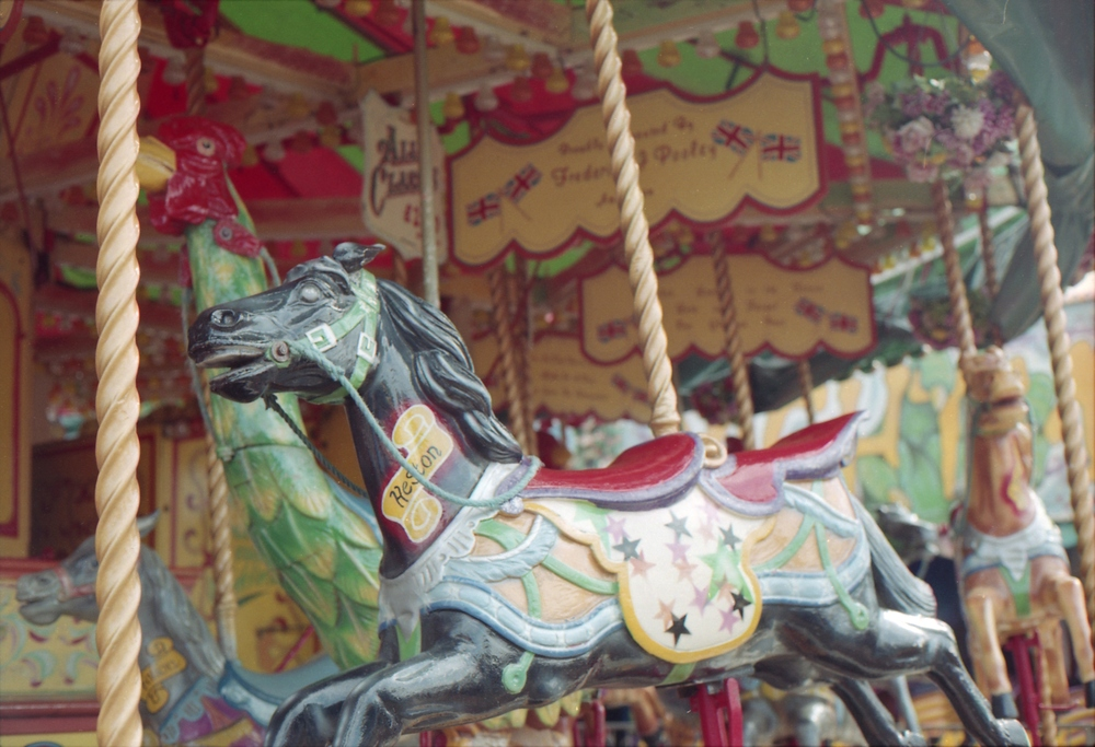Day 95 - The carousel in Hunstanton. I took quite a few photos that day so it was hard to pick, expect a post soon ha.