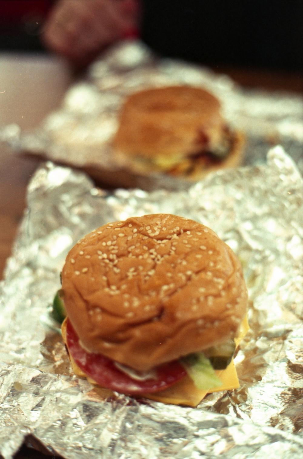 179/366 - Five Guys lunch with a friend, yum. Though pricey I think...