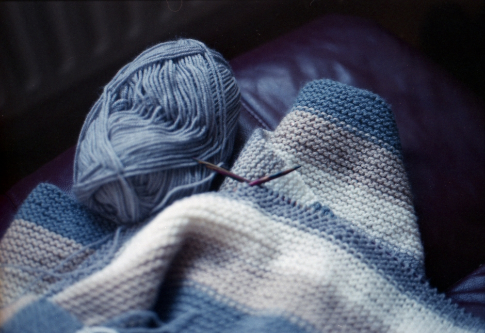 185/366 - I expected to enjoy knitting as I love crochet but I didn't expect to love it as much as I do, its so therapeutic and relaxing as well as satisfying to create something for others - blankets are my fave, just like with crochet..