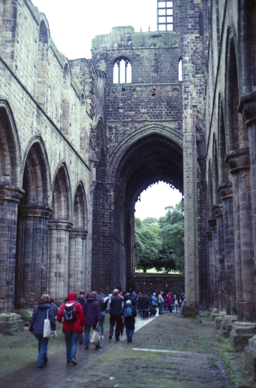191/366 - Another rainy day but this time spent at the abbey as part of Kirkstall Festival