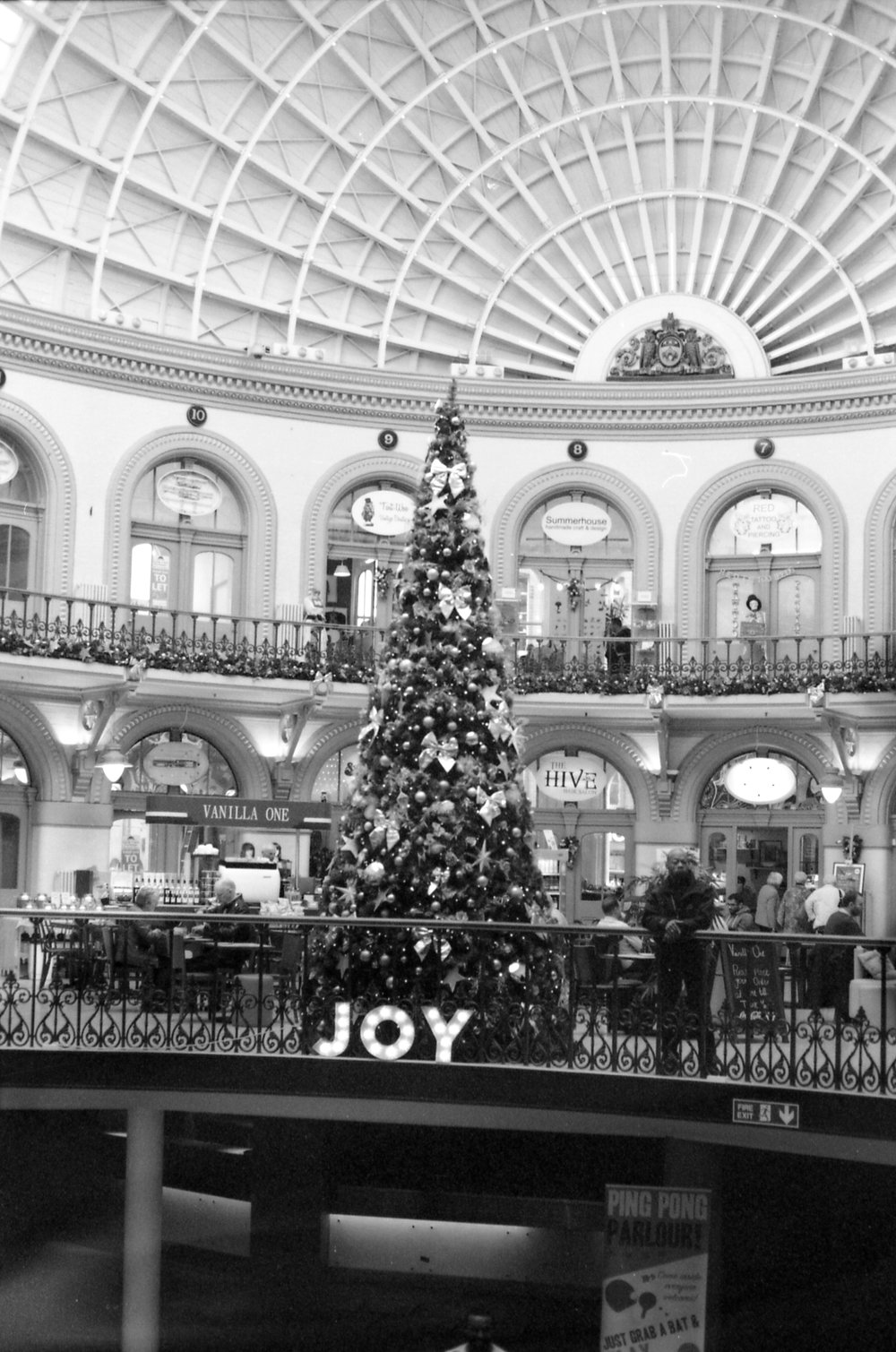 320/366 - The Christmas decorations in the Corn Exchange are always my favourite <3