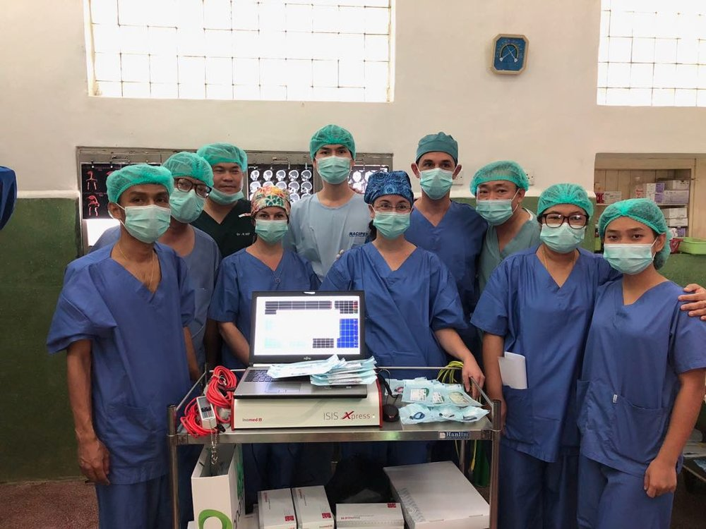 IOM Team, Neurosurgical department, Yangon General hospital, University 1