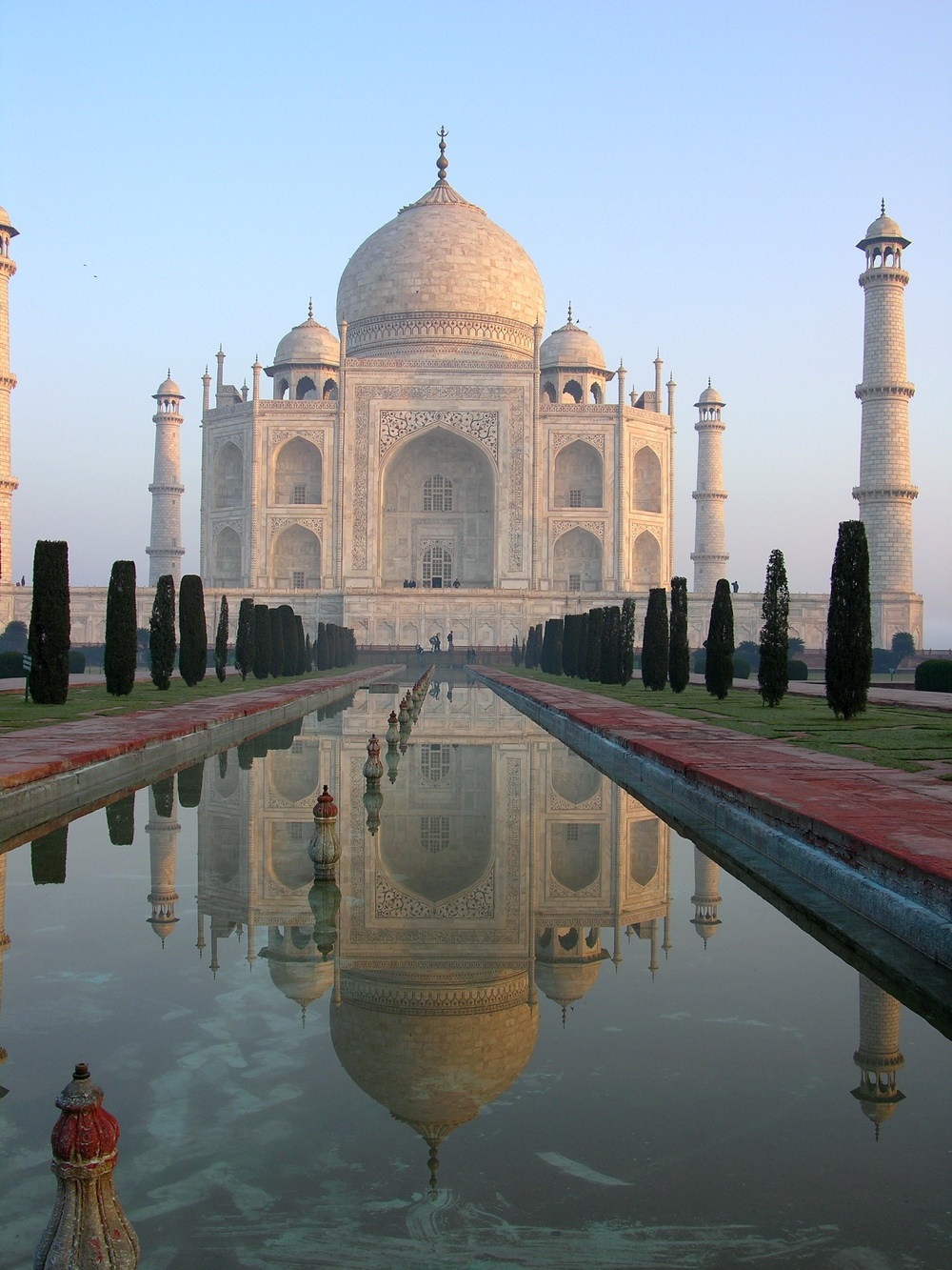 The Taj Mahal Photo credit: Sanjay Chatterji