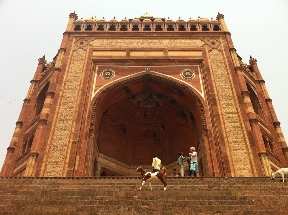 Fatehpur Sikri, Agra Photo credit:  Chris Brown