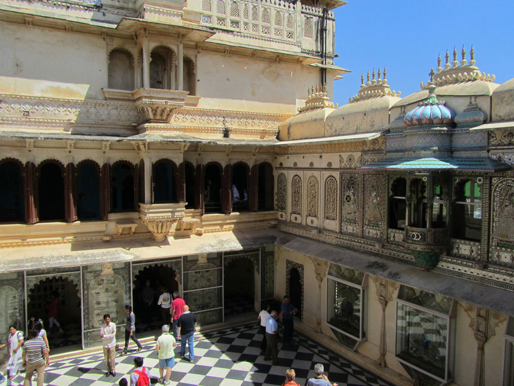 Udaipur City Palace Photo credit: Rustom Katrak