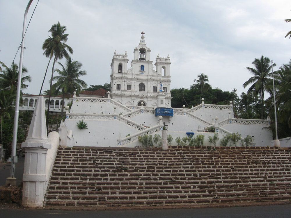 Panjim Church Photo credit:  Aaron C