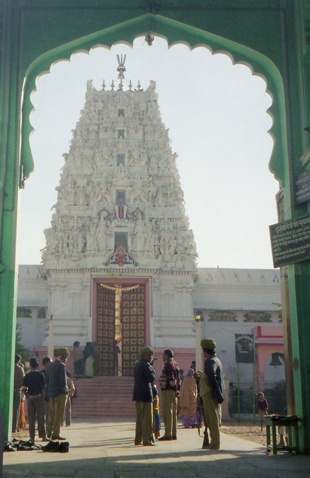 Brahma Temple, Pushkar Photo credit:  Ryan