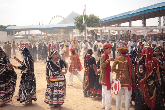 Pushkar Fair Photo credit:  Jason Rufus