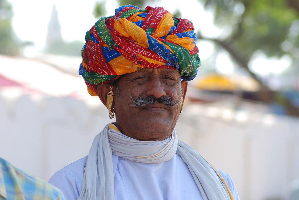 Rajasthani turban, Pushkar Photo cerdit:  sheetal saini