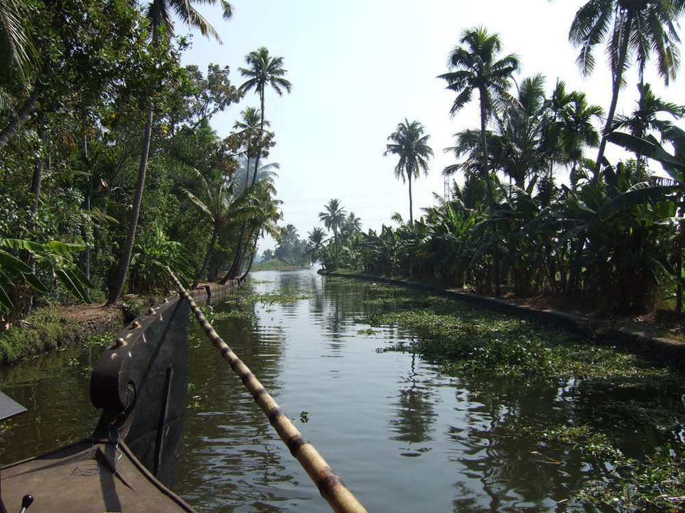 Kerala backwaters Photo credit:  e900