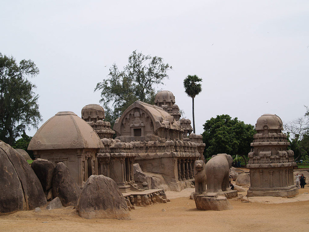 Shore Temple, Mahabalipuram Photo credit:  f  lickrPrince