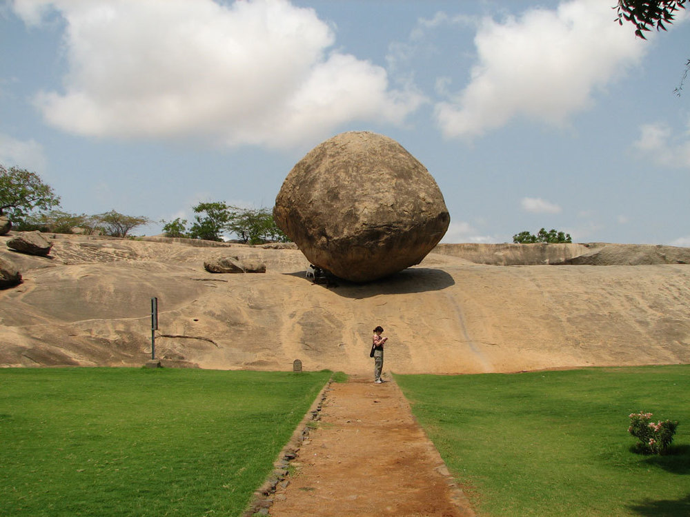Krishna's Butterball, Mahabalipuram Photo credit:  McKay Savage