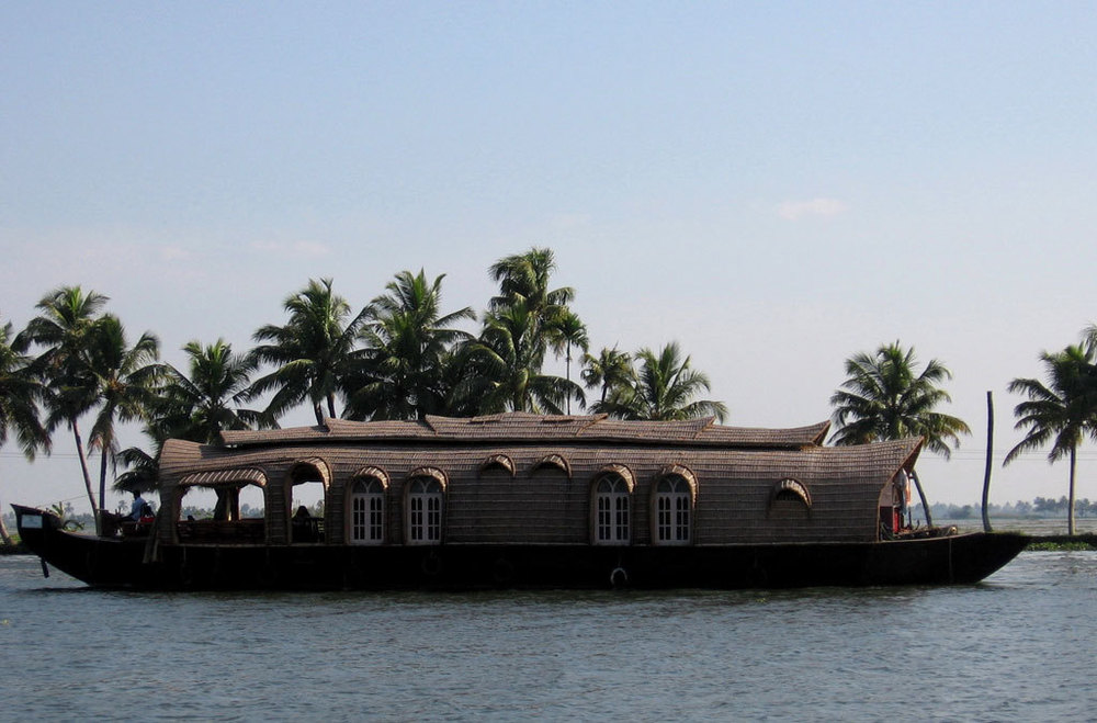 Kerala houseboat Photo credit:  Alex Gaylon