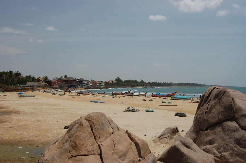 Mahabalipuram Beach Photo credit:   Alexander Pfeiffenberger