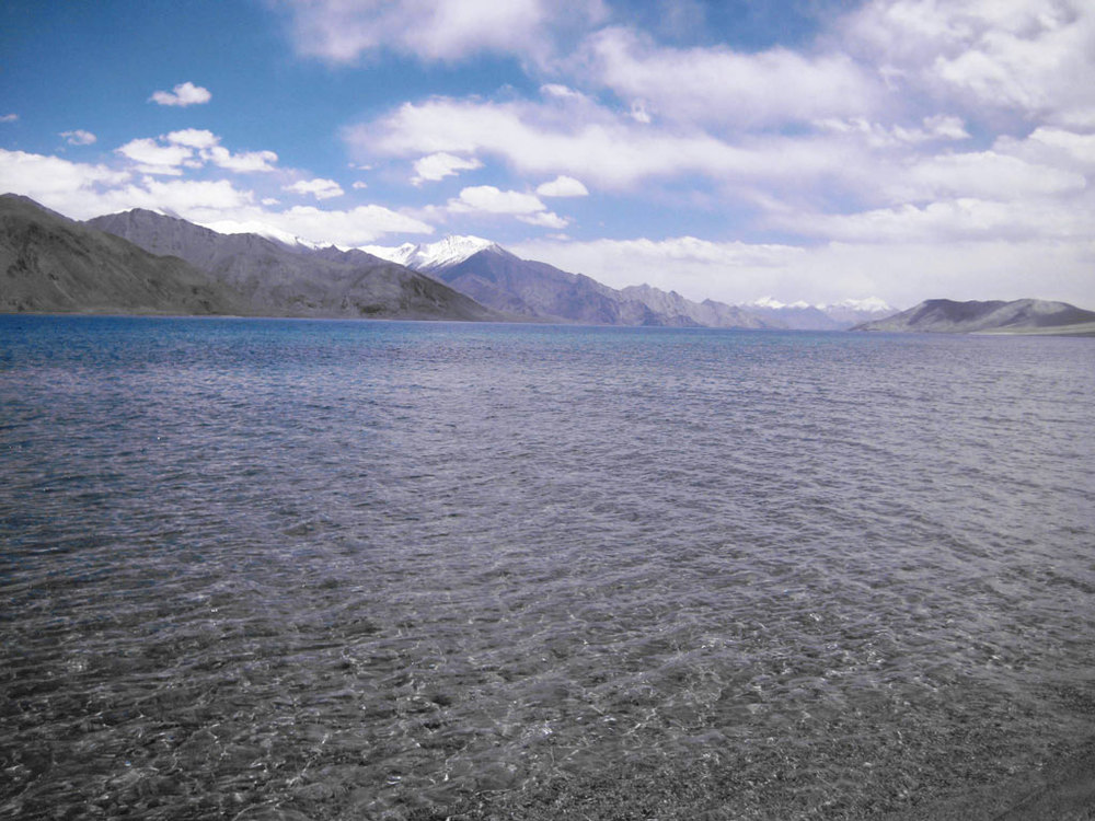 Pangong Lake Photo credit: Tanya Viegas