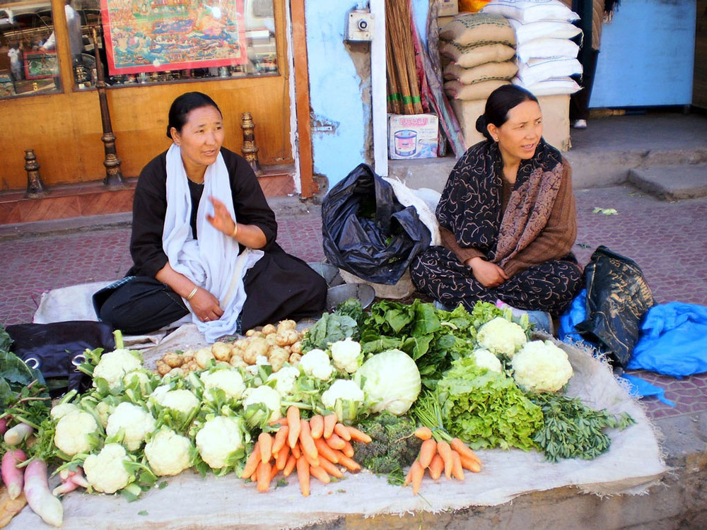 Leh Market Photo credit: Rashmi Prakash