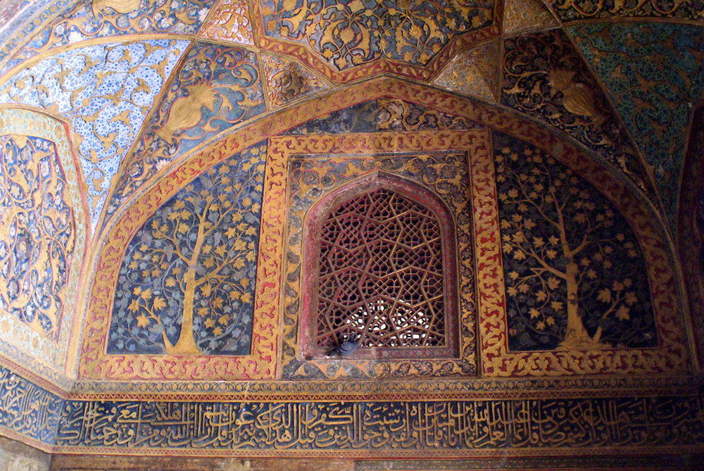 Detail at Akbar's tomb, Sikandra   Photo credit:   Ramón