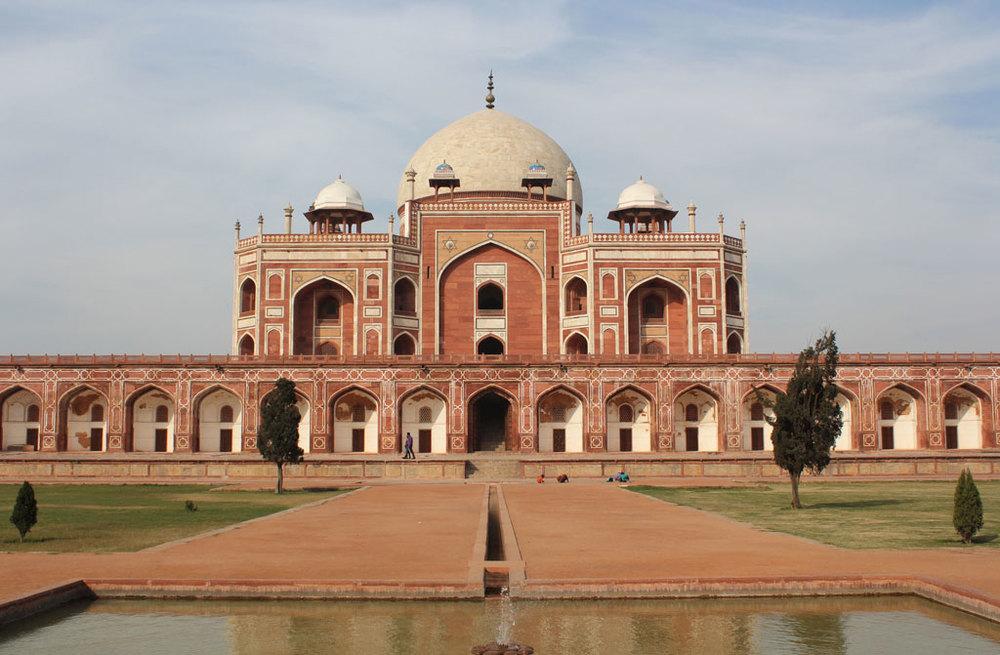 Humayun's tomb, Delhi   Photo credit:  Arian Zwegers